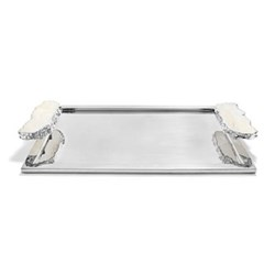 Heritage Large tray, stainless steel