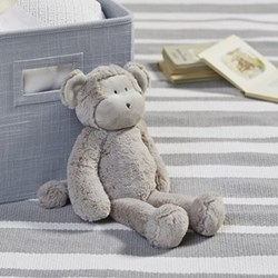 Marcelle Monkey Soft toy, 35 x 18 x 10cm, neutral