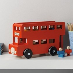 London toy bus, 18.5 x 13 x 31cm