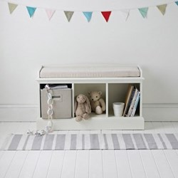 Storage bench with 3 cubes 58 x 101 x 35cm