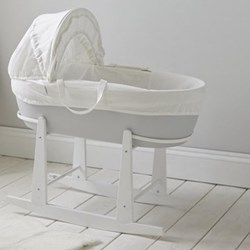 Moses basket rocking stand 86 x 43 x 48cm