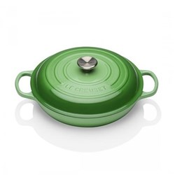 Signature Cast Iron Shallow casserole, 30 x 6cm - 3.2 litre, rosemary