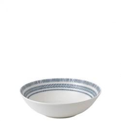 Ellen DeGeneres - Dark Blue Chevron Bowl, 20cm