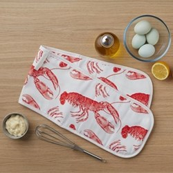 Double oven gloves 20 x 84cm
