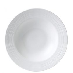 Strata Soup/pasta bowl, 26cm, white