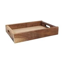 Nordic Medium Crate, 31.4 x 22.4 x 5.5cm, natural