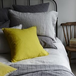 Lisbon Pair of pillowcase, 50 x 75cm, silver grey