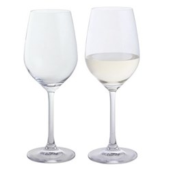 Wine & Bar Pair of white wine glasses, 360ml
