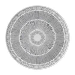 Ellen DeGeneres - Grey Lines Platter, 32cm