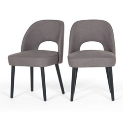 Rory Dining chairs, graphite grey