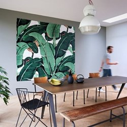 Graphic - Banana Leaf Wall decoration, 220 x 200cm