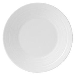 Strata Plate, 18cm, white