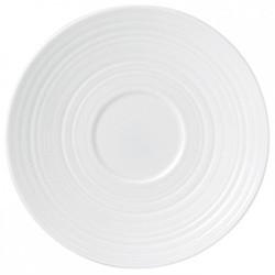 Jasper Conran - Strata Tea saucer, white
