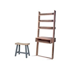 Hambledon Desk ladder, H180.5 x W75 x D23.5cm, oak