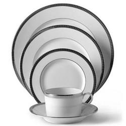 Symphonie Platine Large dinner plate, 28cm