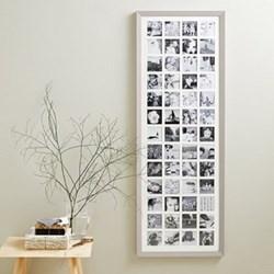 Photograph frame - 52 aperture 133.5 x 48cm