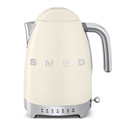 50's Retro Kettle with 7 temperature settings, 1.7 litres, cream