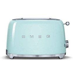 50's Retro 2 slice toaster, pastel green