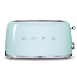 50's Retro 4 slice toaster - 2 slot, pastel green