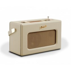 Revival RD70 DAB digital radio, H16 x W25.2 x D10.4cm, pastel cream