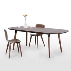 Extending dining table H74 x W170 x D95cm