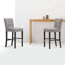 Flynn Bar stool, H105 x W44 x D58cm, graphite grey