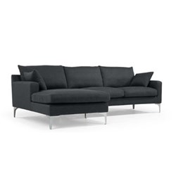 Left hand facing corner sofa group H85 x W256 x D91/161