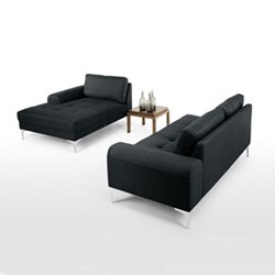 Left hand facing corner sofa group H81 x W289 x D92/151cm