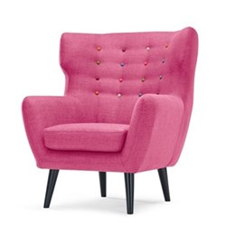 Wing back chair H105 x W83 x D85cm