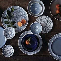 Ellen DeGeneres - Blue Love Set of 4 bowls, 14cm