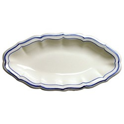 Filets Bleu Pickle dish, 26.5 x 13cm