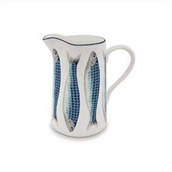 Harlequin Blue Small jug, H13cm - 0.5 litre, Harlequin Blue