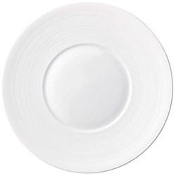 Hemisphere Presentation plate, 31cm, white