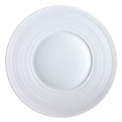 Hemisphere Dinner plate, 26cm, white