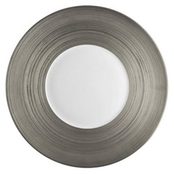 Hemisphere Dessert plate, 21cm, full platinum rim