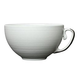 Hemisphere Teacup, 23cl, full platinum rim