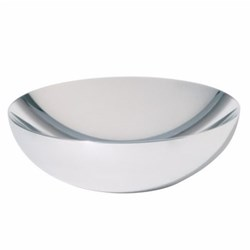 Double by Donato D'Urbino Double hollow bowl, 25cm, polished finish