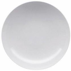 Loft Deep plate, 24cm, white