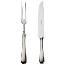 Como Carving knife and fork, stainless steel