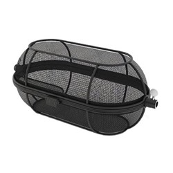 Premium Fine mesh rotisserie basket, H42.5 x W22.48 X D14.3cm, black