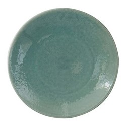 Tourron Round dish, 32.5cm, jade