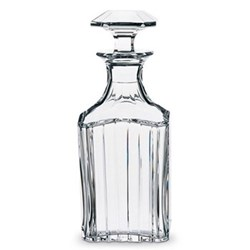 Whisky decanter square 0.9 litre