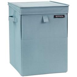 Stackable Laundry box, 35 litre, pastel mint