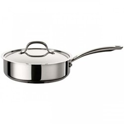Ultimum - Stainless Steel Covered saute pan, 24cm - 2.8 litre