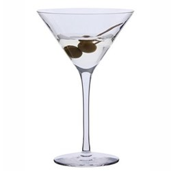 Pair of martini glasses H18.5cm - 21cl