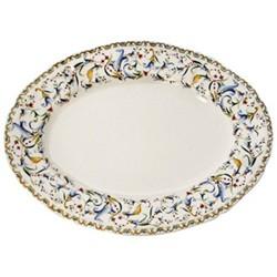 Toscana Oval platter No.6, 39.3 x 29cm