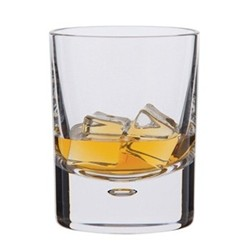 Exmoor Pair of old fashioned tumblers, H9.6cm - 22cl, clear