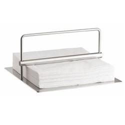 Peter Holmblad Napkin holder, H10 x L19 x W19cm, satin stainless steel
