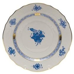 Apponyi Dessert/salad plate, 19 x 2cm, blue