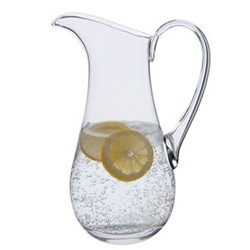 Coolers Mineral water jug, H27cm - 1.5 litre, clear